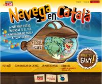 Navega en català! Posa't el giny!