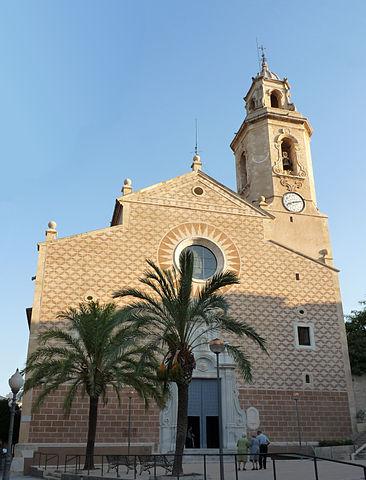 L'església de Constantí. Font: Viquipèdia.