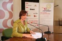 Begoña Floria, la tinent d'alcalde de Societat de la Informació