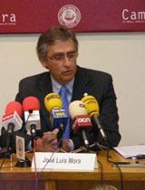 El presdient de la Cambra de Tortosa, José Luis Mora