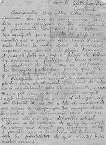 Cartes de soldats de Constantí i la Selva del Camp des del front de guerra (1936-1938)