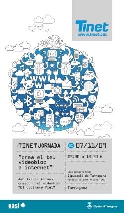 Cartell de la TINETjornada 2009