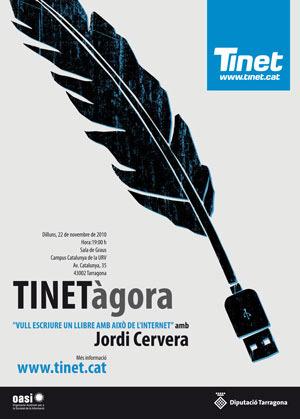 Cartell de la TINETàgora 2010