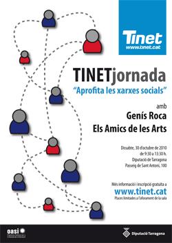 Cartell de la TINETjornada 2010