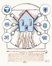 Detall del cartell de la TINETjornada (Il·lustració: Napi)