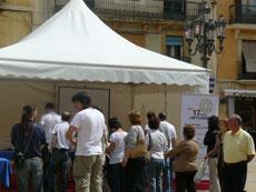 Els actes centrals a Tarragona s'han celebrat a la Plaça de la Font