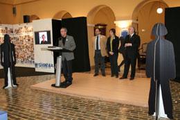 El president de la Diputació, Josep Poblet, va inaugurar la mostra