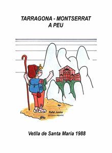 Tarragona-Montserrat a peu (1988)
