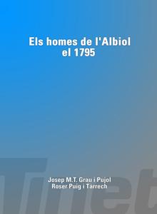 Els homes de l'Albiol el 1795