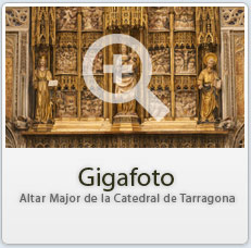Gigafoto de l'Altar Major de la Catedral de Tarragona