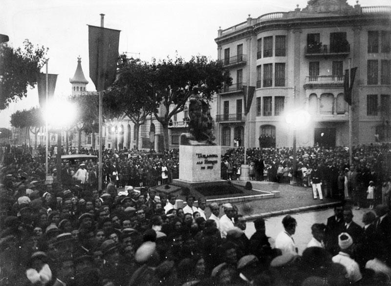 Inauguració a la Rambla del monument