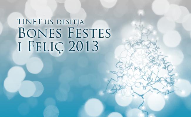 Bones Festes i Feliç 2013!