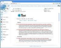 El nou webmail de TINET