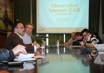 La presentació s'ha realitzat al Palau de la Diputació