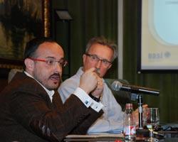 Alejandro Fernández i Enric Brull han estat els encarregats de presentar l'Observatori 2011