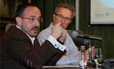 Fernández i Brull durant la presentació de l'Observatori Internet OASI 2011