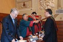 Josep Poblet va actuar com a pregoner de l'acte