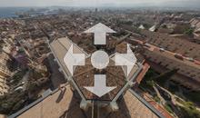 Vista de Tarragona des de la Capona