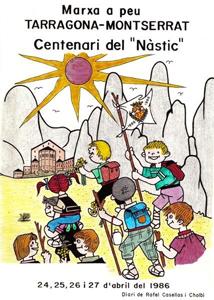Marxa a peu: Tarragona - Montserrat (1986)