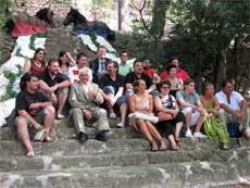 Organitzadors i responsables d'entitats que participen en la Festa