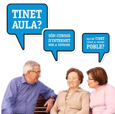 Imatge del cartell de la TINETaula