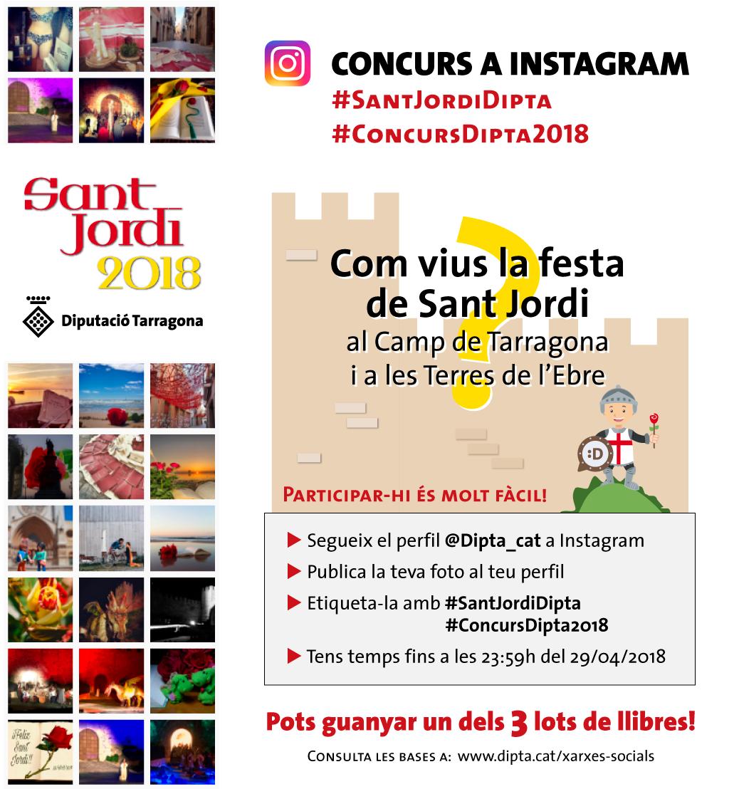 Concurs de Sant Jordi 2018