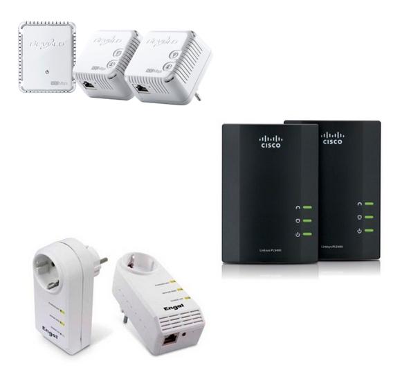 Aparells per a comunicacions per línia elèctrica o PLC