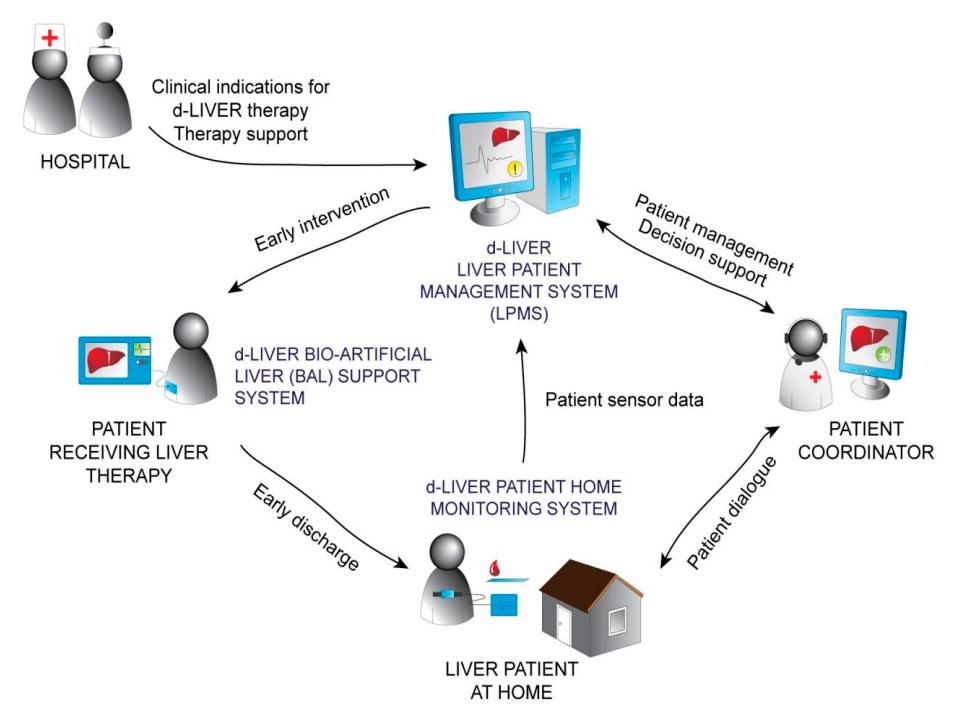 Mapa de funcionament de d-LIVER