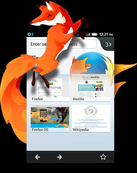 Firefox al mòbil