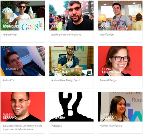 Ponents del GDG DevFest Reus 2014