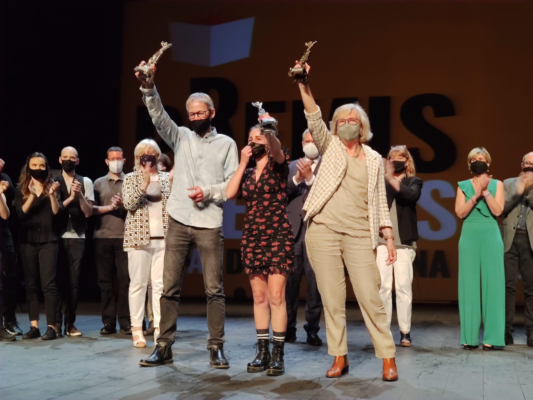 Guanyadors dels Premis Literaris Ciutat de Tarragona 2020-2021