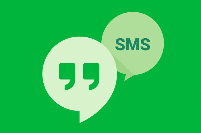 L'aplicació Google Hangouts permet gestionar MMS en telèfons Android