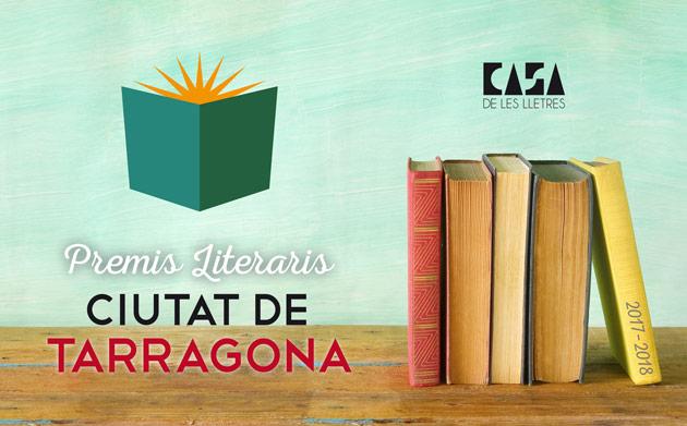 Premis Literaris Ciutat de Tarragona 2017-2018