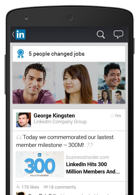 LinkedIn per Android