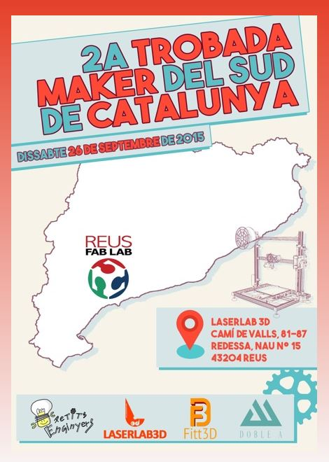 Cartell de la 2a trobada Maker