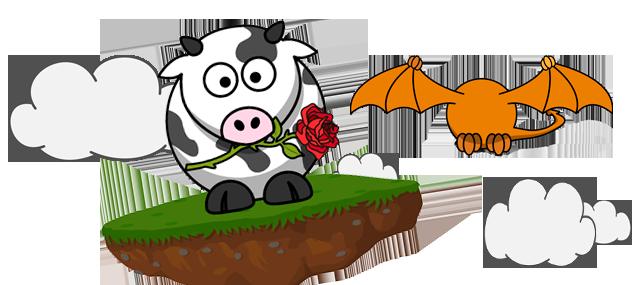 Per Sant Jordi, vaques en lloc de dracs!