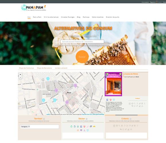 Portal web pamapam.org