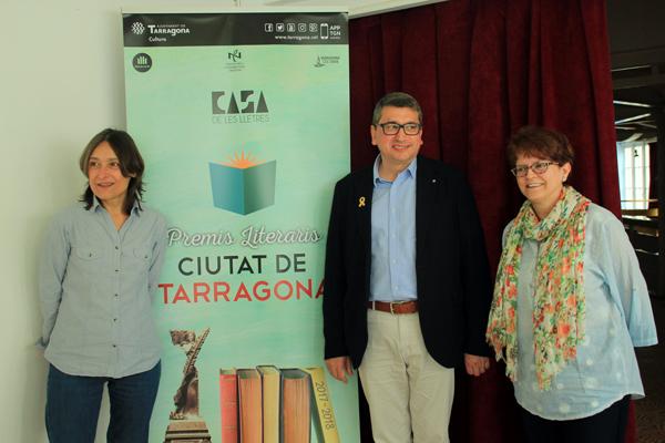 Guanyadors dels Premis Literaris Ciutat de Tarragona 20117-2018