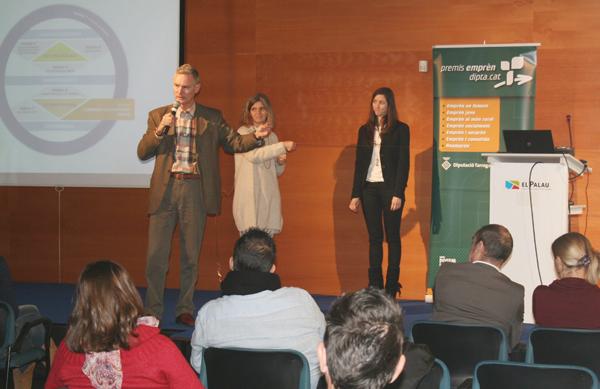 La jornada es va adreçar als participants dels Premis Emprèn de la Diputació