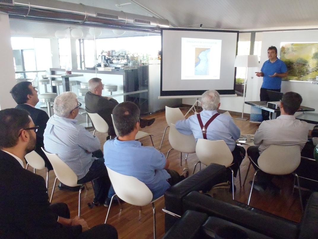 Acte de presentació del projecte a Cambrils