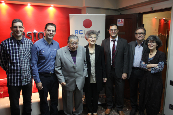 Albert Cots, Carles Cortés, Manuel Pastor, Griselda Llopart, Quim Espinosa, Josep María Martí i Griselda Pastor