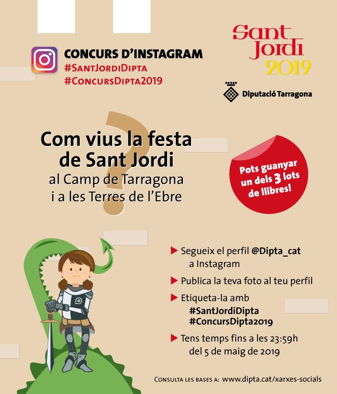 Concurs de Sant Jordi a Instagram 2019