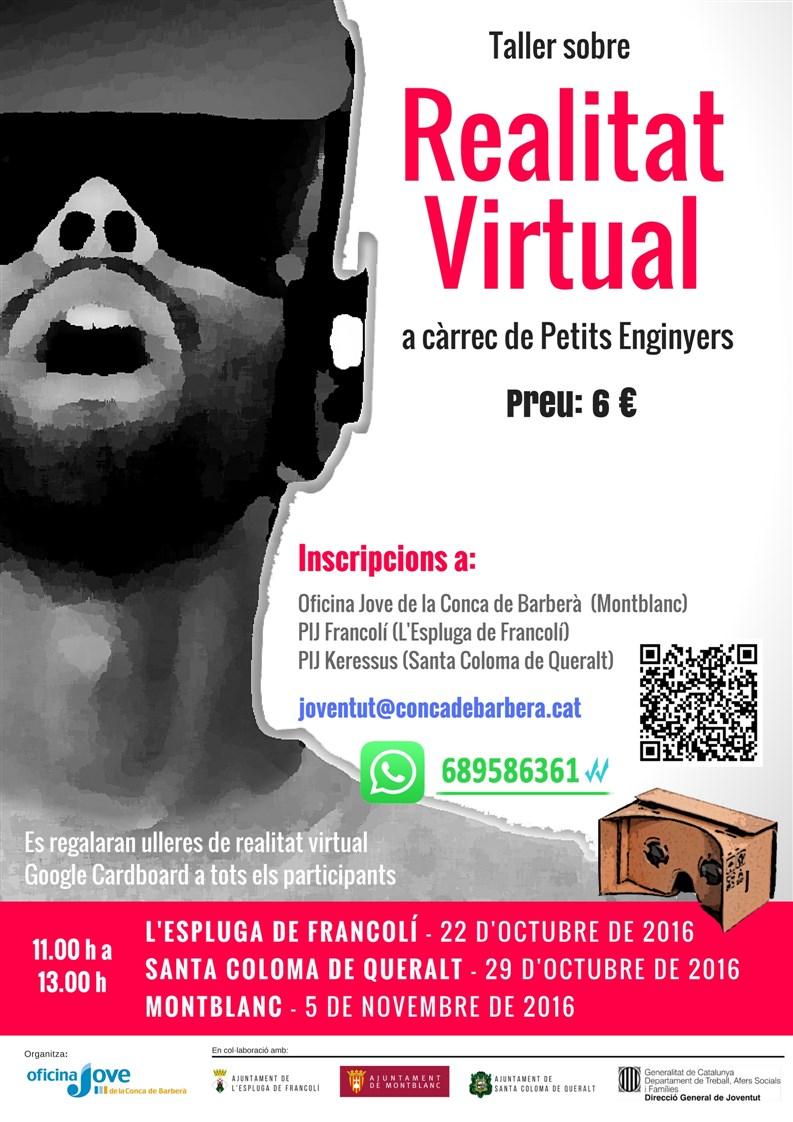 Tallers de realitat virtual a la Conca de Barberà