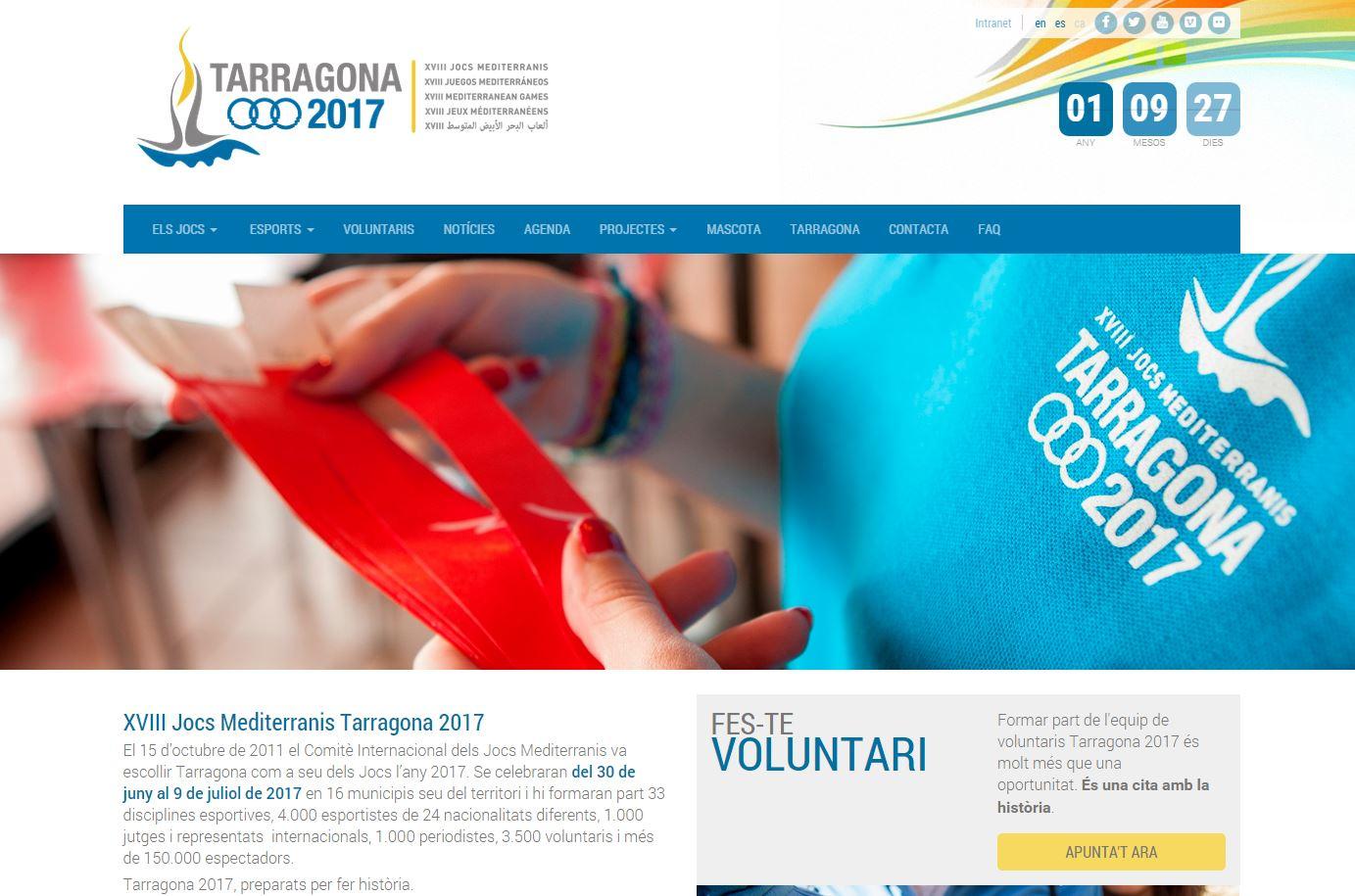 Web de Tarragona 2017