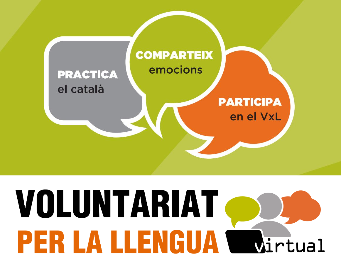 Voluntariat per la llengua virtual