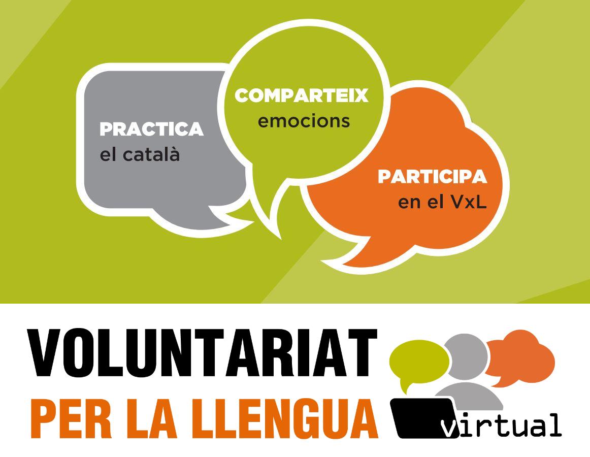 Voluntariat per la llengua virtual