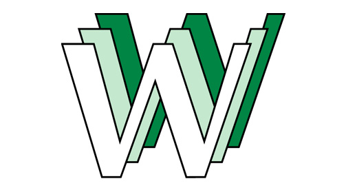 Antic logo de WWW, creat l'any 1990 pel belga Robert Cailliau